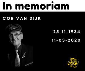 In memoriam Cor van Dijk
